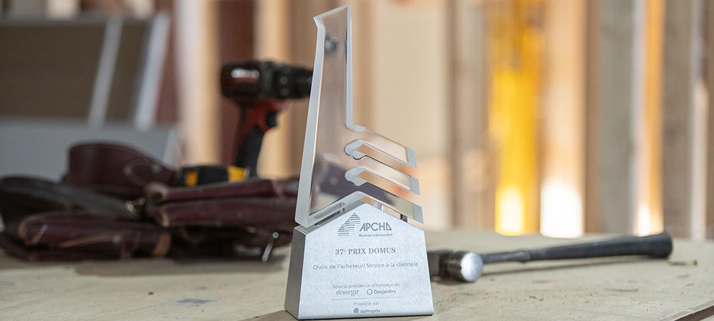 Prix et distinctions   Promoteur immobilier de luxe à Saint-Lambert   Excellence Construction Rénovation
