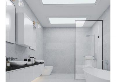 Salle de bain projet Comienzo | Promoteur immobilier à Saint-Lambert | Excellence Construction Rénovation